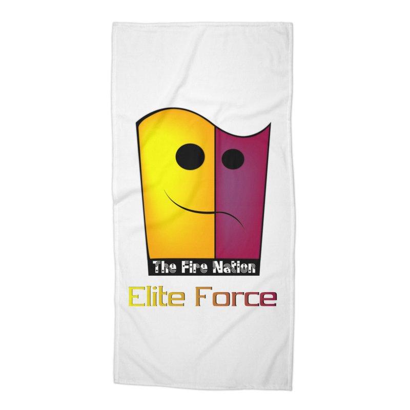 Fire Nation Elite Force Accessories Beach Towel by 8010az's Shop