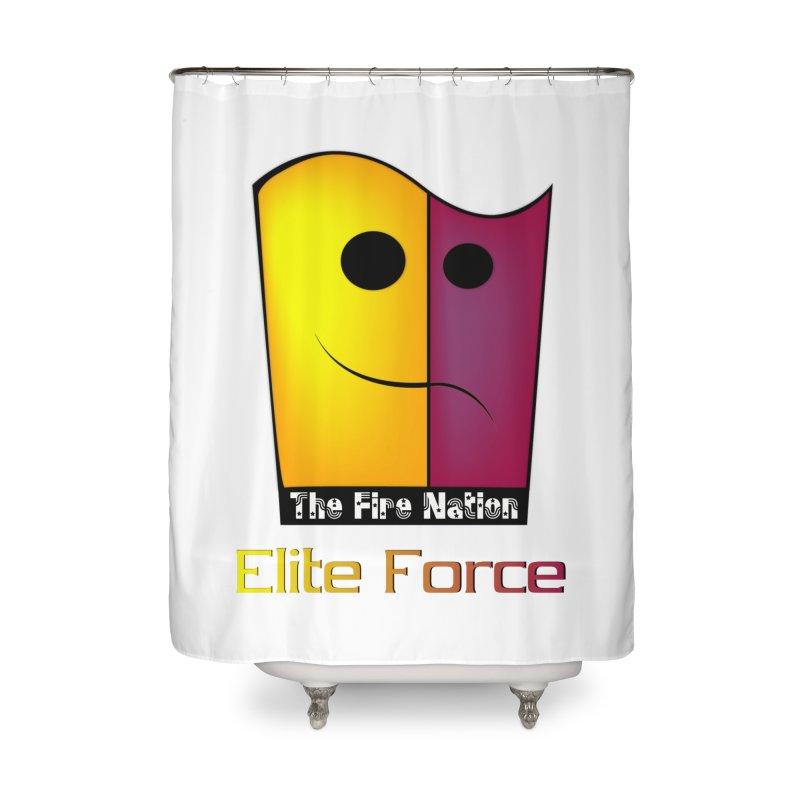 Fire Nation Elite Force Home Shower Curtain by 8010az's Shop