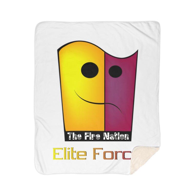 Fire Nation Elite Force Home Sherpa Blanket Blanket by 8010az's Shop