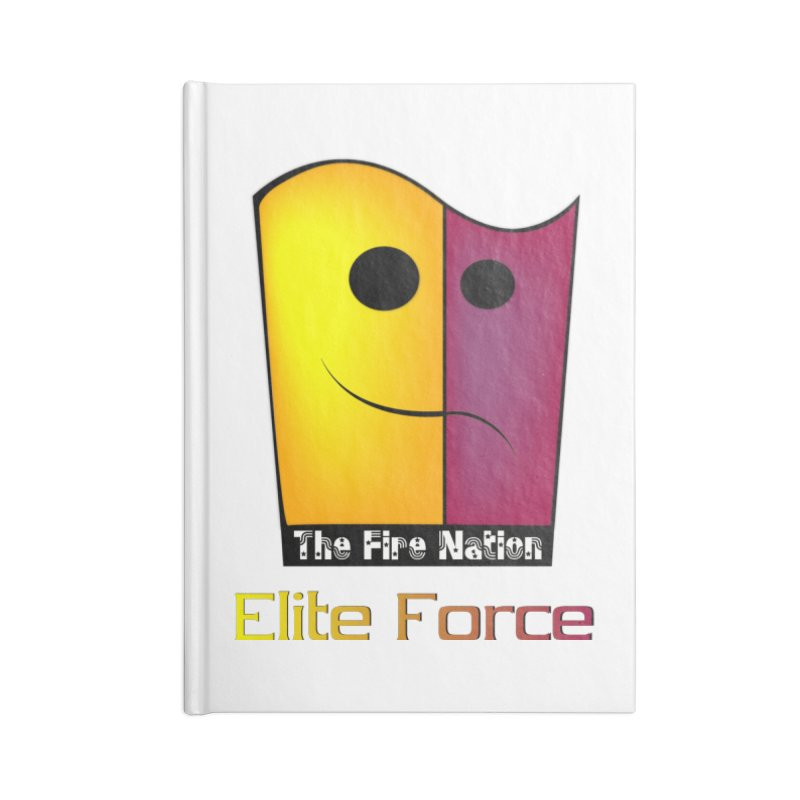 Fire Nation Elite Force Accessories Lined Journal Notebook by 8010az's Shop