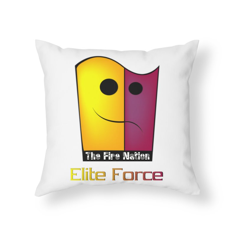 Fire Nation Elite Force Home Throw Pillow by 8010az's Shop