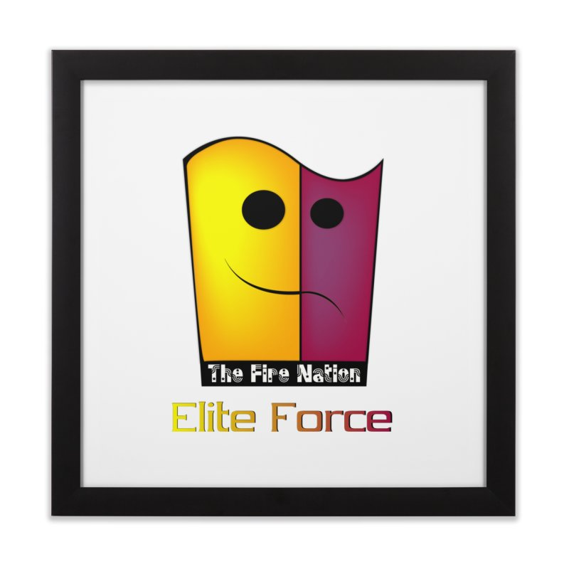 Fire Nation Elite Force Home Framed Fine Art Print by 8010az's Shop