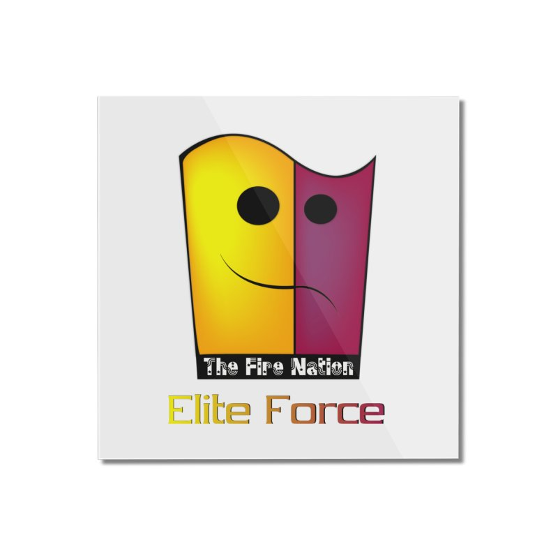 Fire Nation Elite Force Home Mounted Acrylic Print by 8010az's Shop