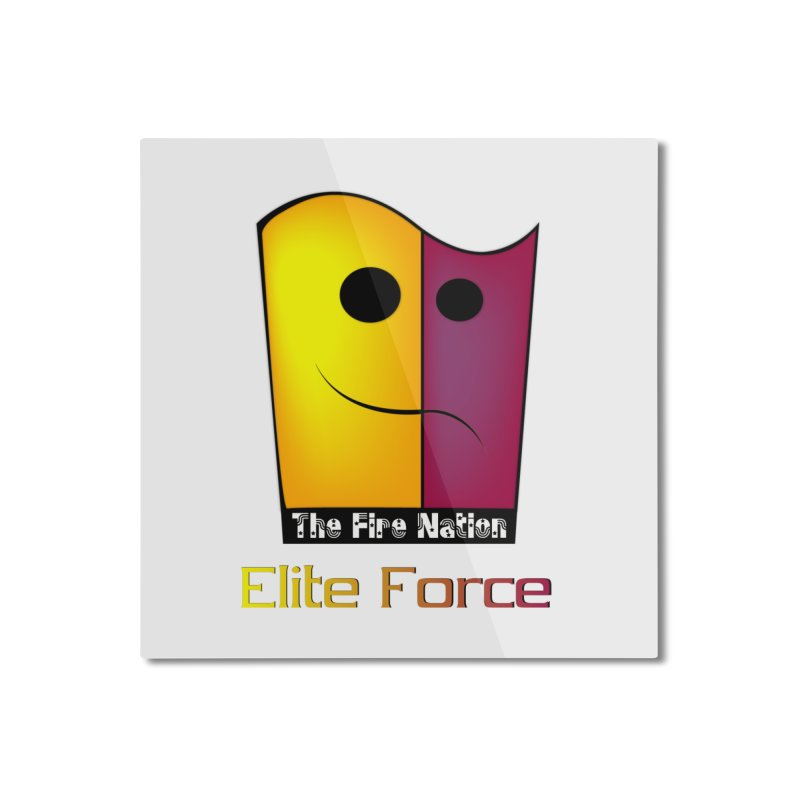 Fire Nation Elite Force Home Mounted Aluminum Print by 8010az's Shop