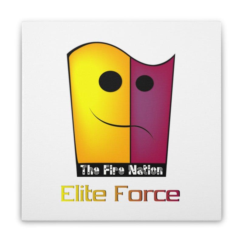 Fire Nation Elite Force Home Stretched Canvas by 8010az's Shop