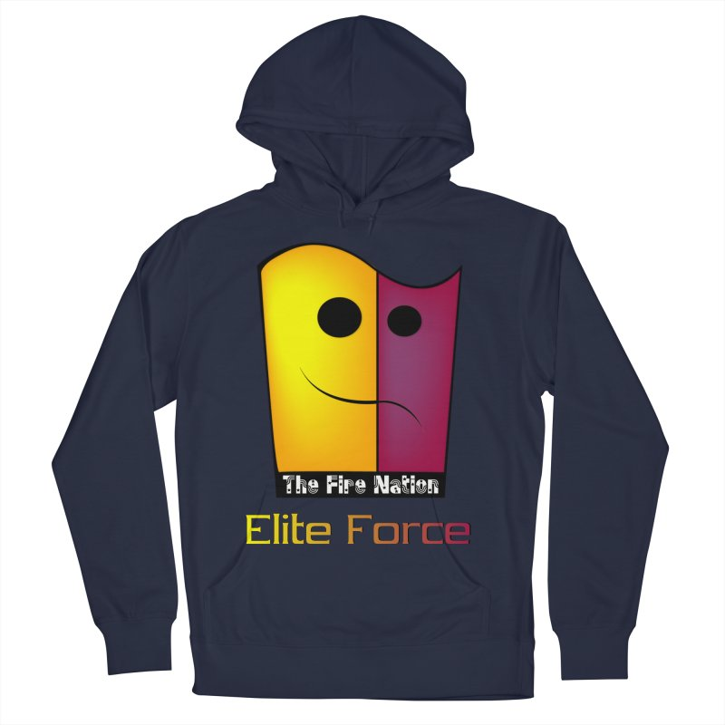 Fire Nation Elite Force Women's French Terry Pullover Hoody by 8010az's Shop