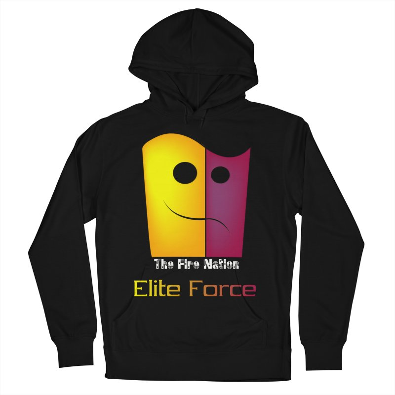Fire Nation Elite Force Men's French Terry Pullover Hoody by 8010az's Shop