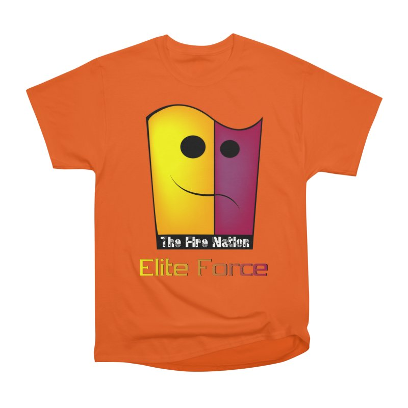 Fire Nation Elite Force Men's Heavyweight T-Shirt by 8010az's Shop