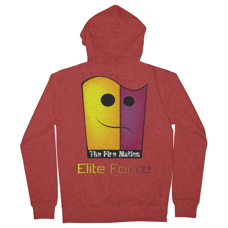 Fire Nation Elite Force Women's French Terry Zip-Up Hoody by 8010az's Shop