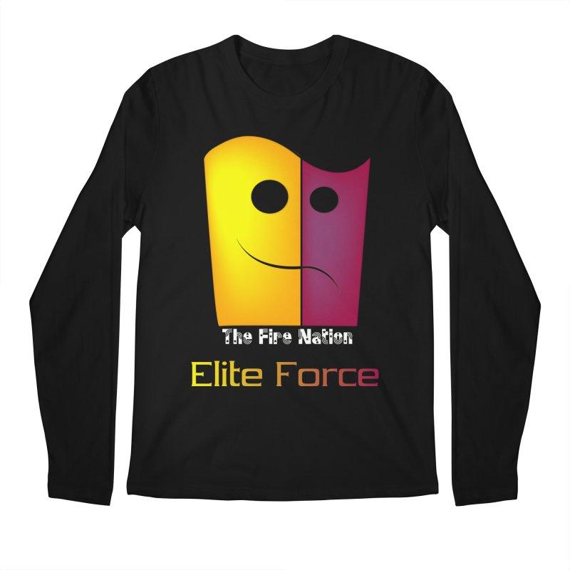 Fire Nation Elite Force Men's Regular Longsleeve T-Shirt by 8010az's Shop