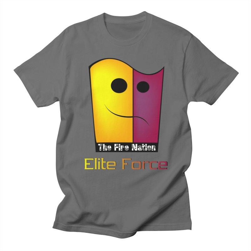 Fire Nation Elite Force Men's Regular T-Shirt by 8010az's Shop