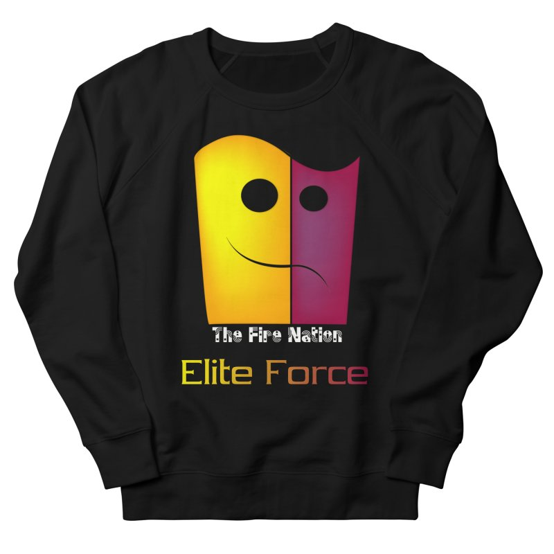 Fire Nation Elite Force Men's French Terry Sweatshirt by 8010az's Shop