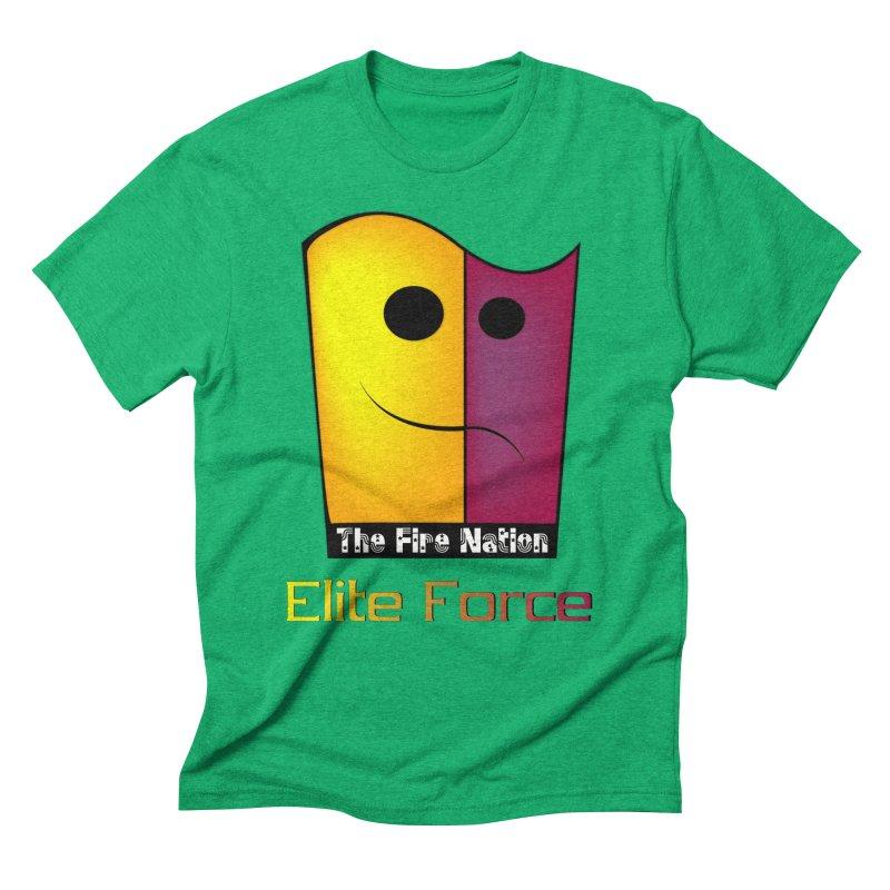 Fire Nation Elite Force Men's Triblend T-Shirt by 8010az's Shop
