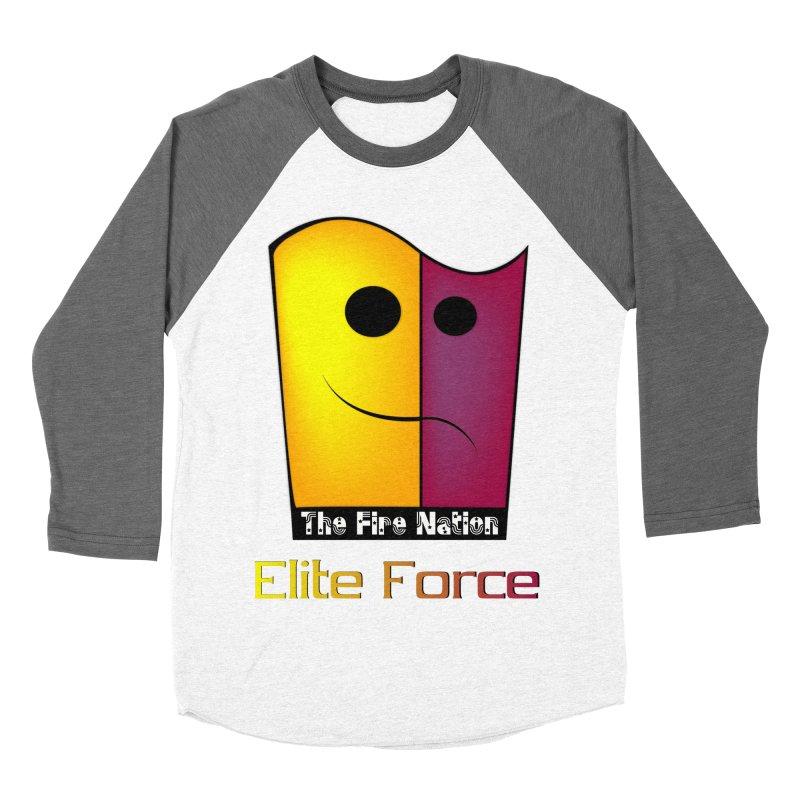 Fire Nation Elite Force Women's Baseball Triblend Longsleeve T-Shirt by 8010az's Shop