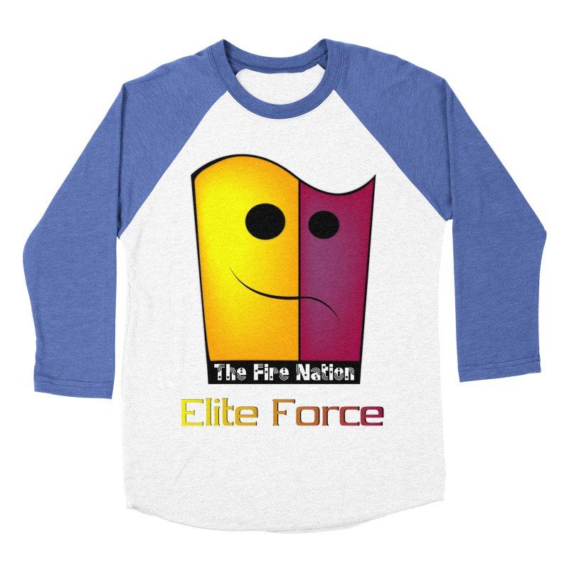 Fire Nation Elite Force Men's Baseball Triblend Longsleeve T-Shirt by 8010az's Shop