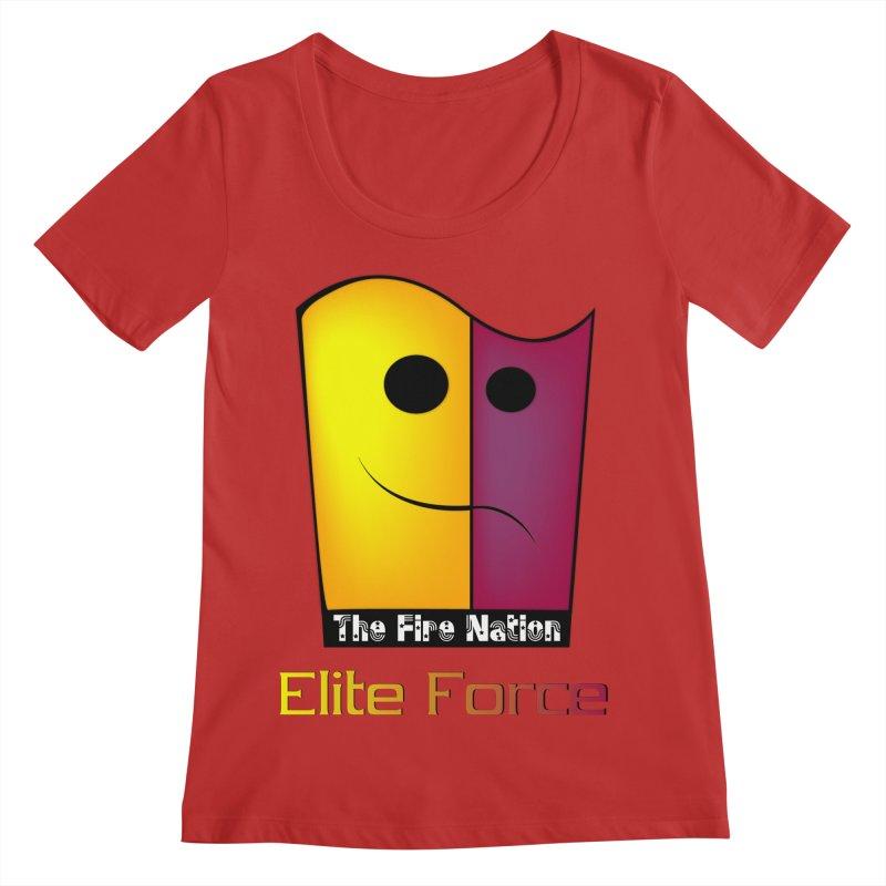 Fire Nation Elite Force Women's Regular Scoop Neck by 8010az's Shop