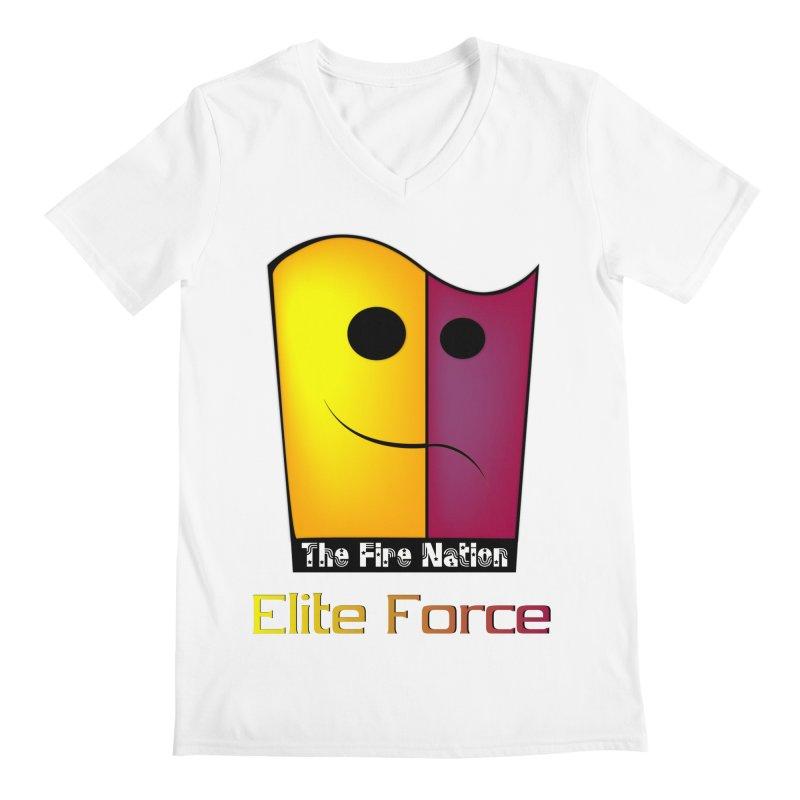 Fire Nation Elite Force Men's V-Neck by 8010az's Shop