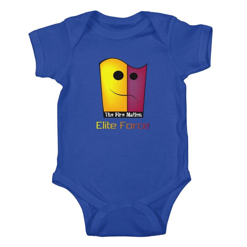 Fire Nation Elite Force Kids Baby Bodysuit by 8010az's Shop