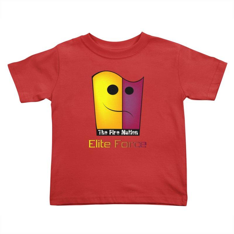 Fire Nation Elite Force Kids Toddler T-Shirt by 8010az's Shop