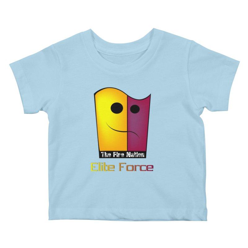 Fire Nation Elite Force Kids Baby T-Shirt by 8010az's Shop