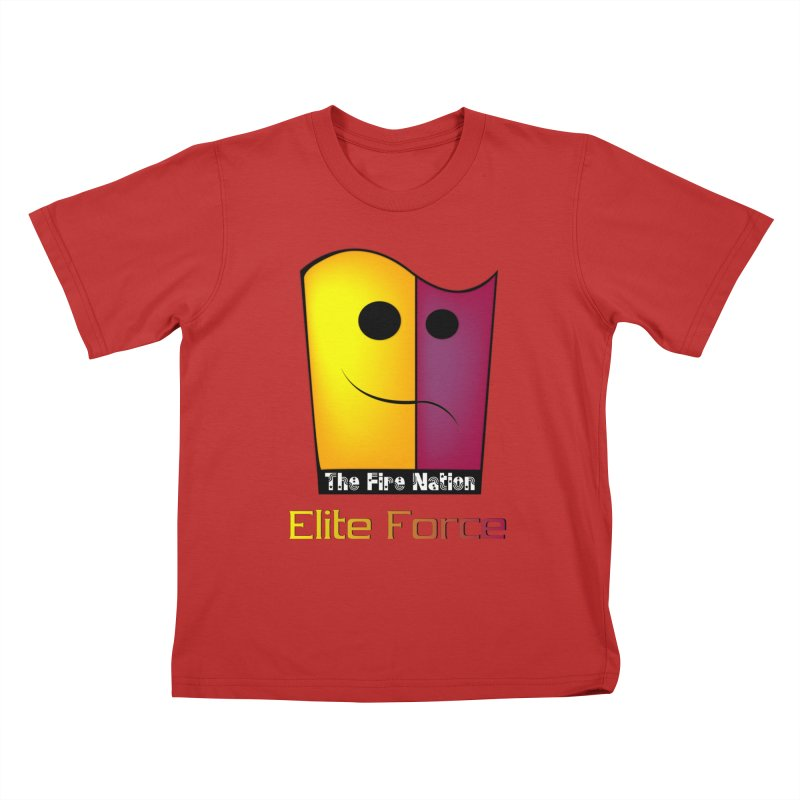 Fire Nation Elite Force Kids T-Shirt by 8010az's Shop