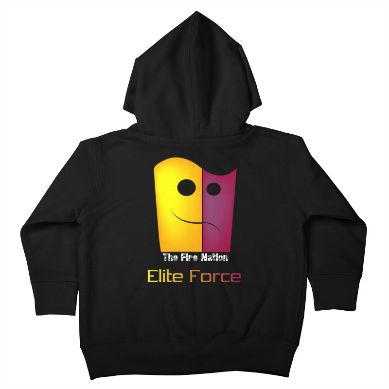 Fire Nation Elite Force Kids Toddler Zip-Up Hoody by 8010az's Shop