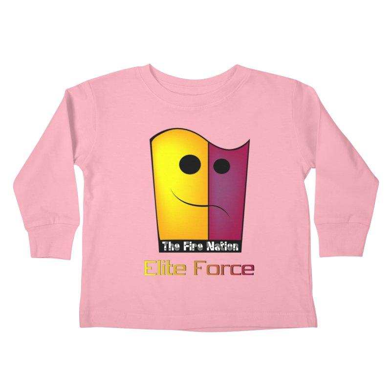Fire Nation Elite Force Kids Toddler Longsleeve T-Shirt by 8010az's Shop