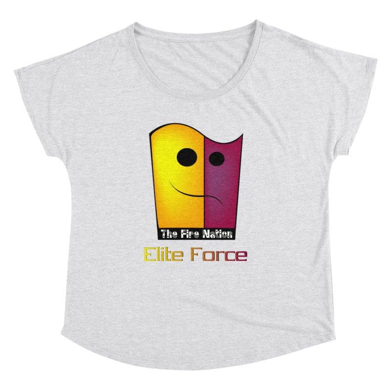 Fire Nation Elite Force Women's Dolman Scoop Neck by 8010az's Shop