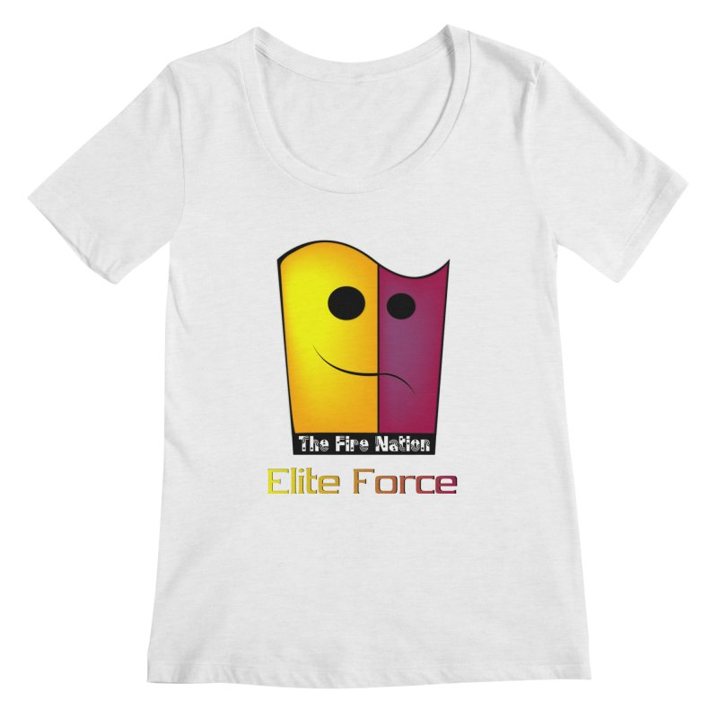 Fire Nation Elite Force Women's Regular Scoop Neck by 8010az's Shop