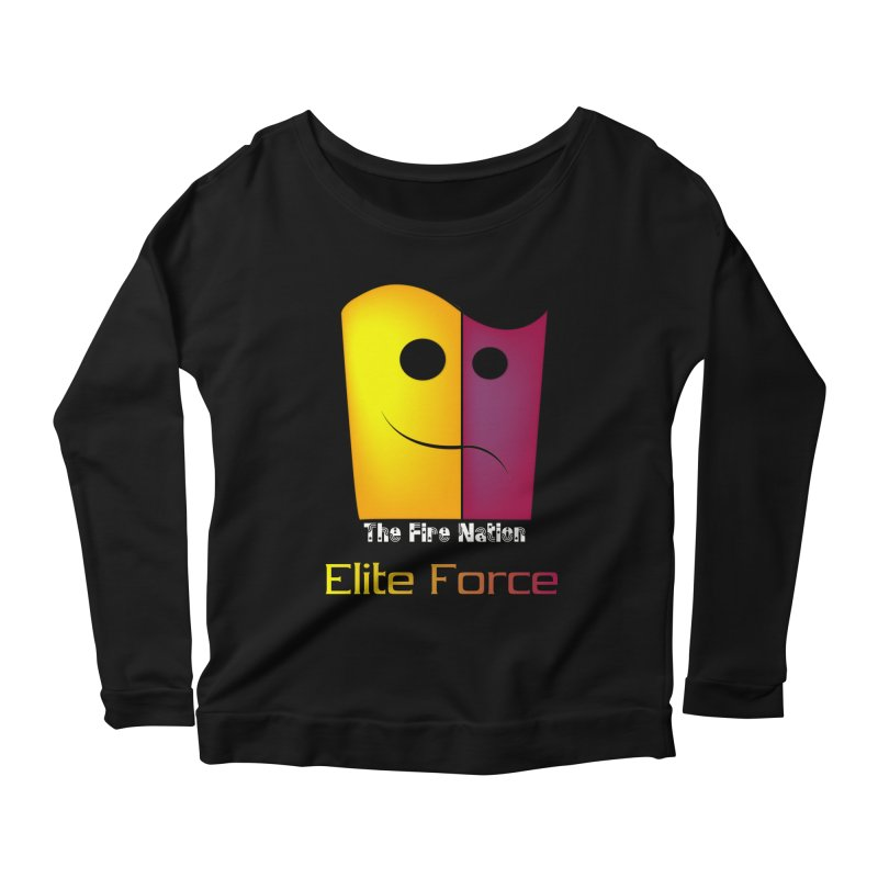 Fire Nation Elite Force Women's Scoop Neck Longsleeve T-Shirt by 8010az's Shop
