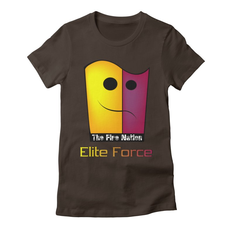 Fire Nation Elite Force Women's Fitted T-Shirt by 8010az's Shop