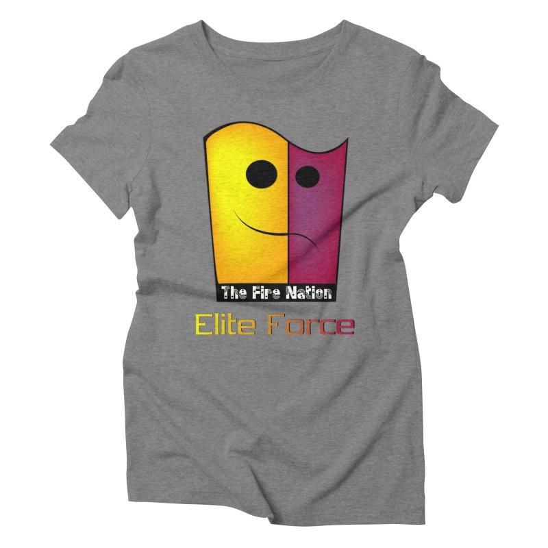 Fire Nation Elite Force Women's Triblend T-Shirt by 8010az's Shop