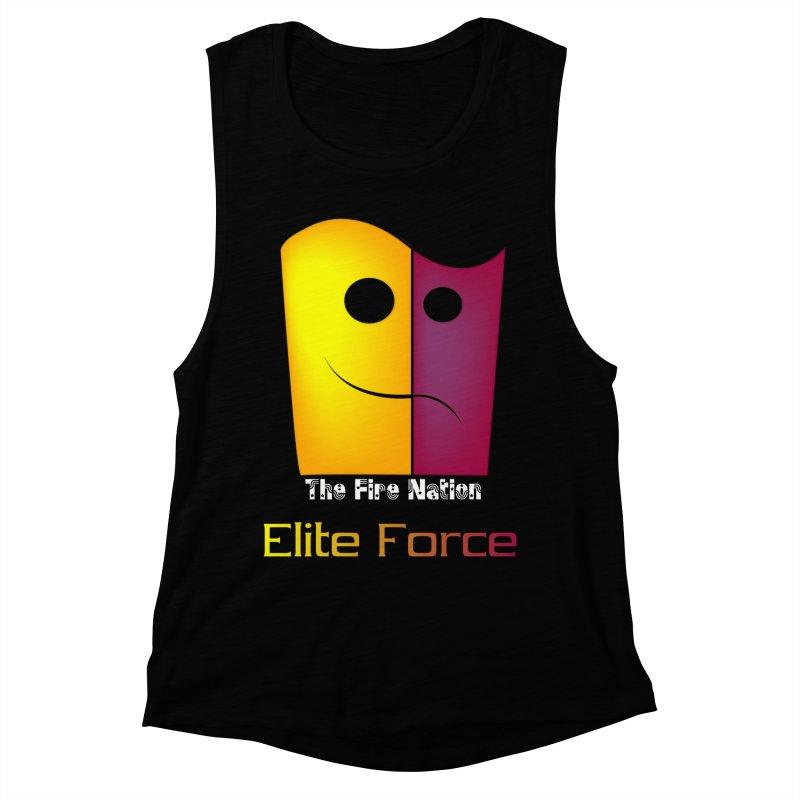 Fire Nation Elite Force Women's Muscle Tank by 8010az's Shop