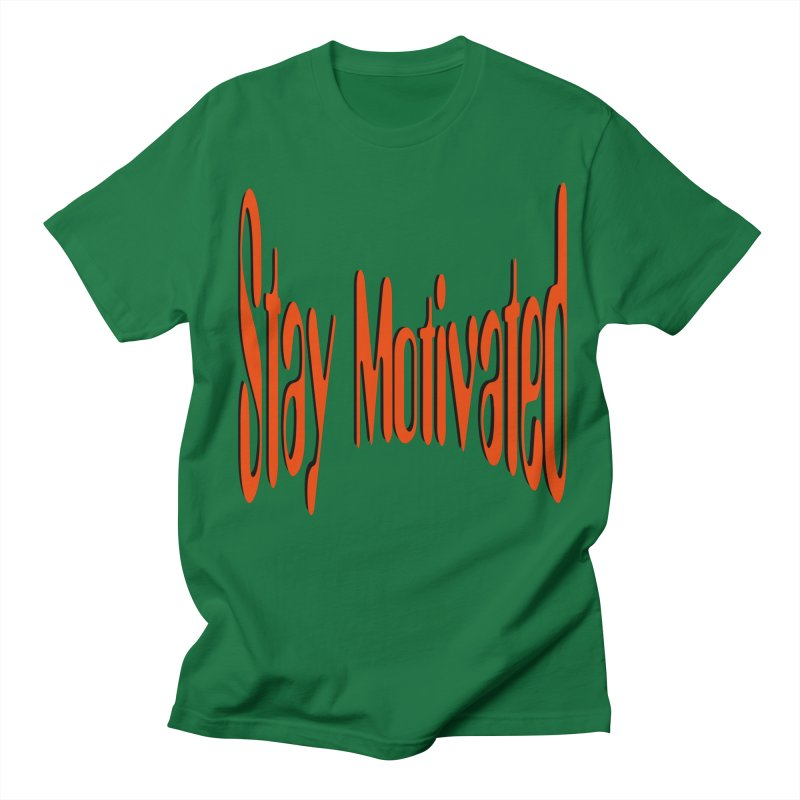 Stay Motivated Men's Regular T-Shirt by 8010az's Shop