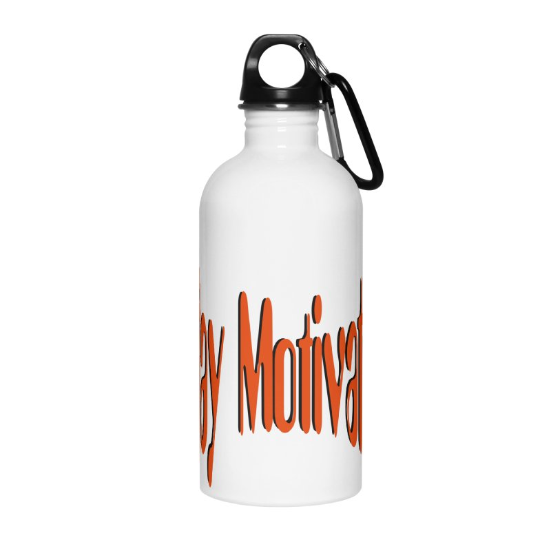 Stay Motivated Accessories Water Bottle by 8010az's Shop