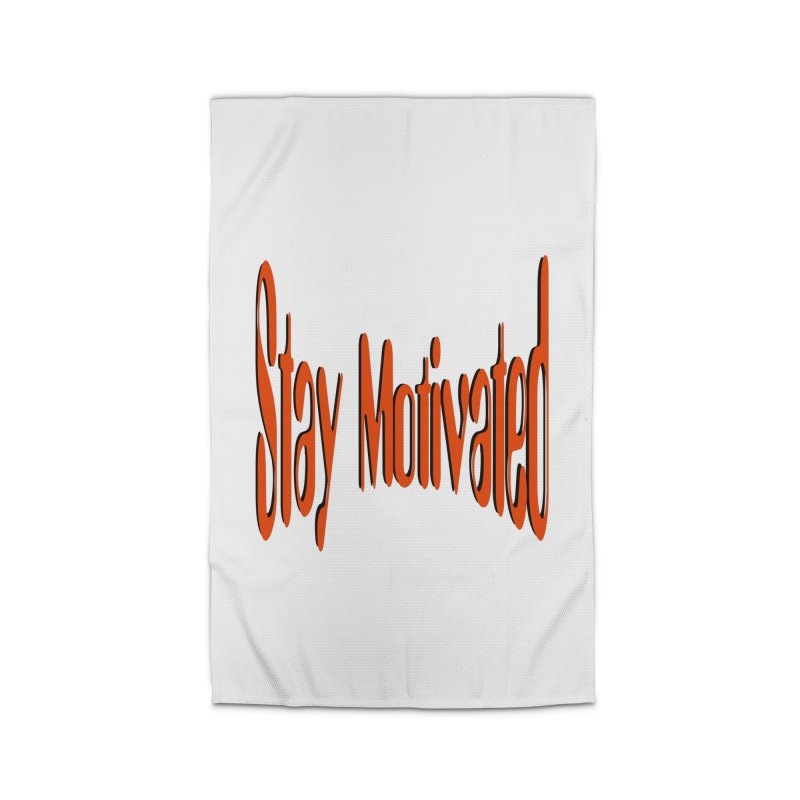 Stay Motivated Home Rug by 8010az's Shop