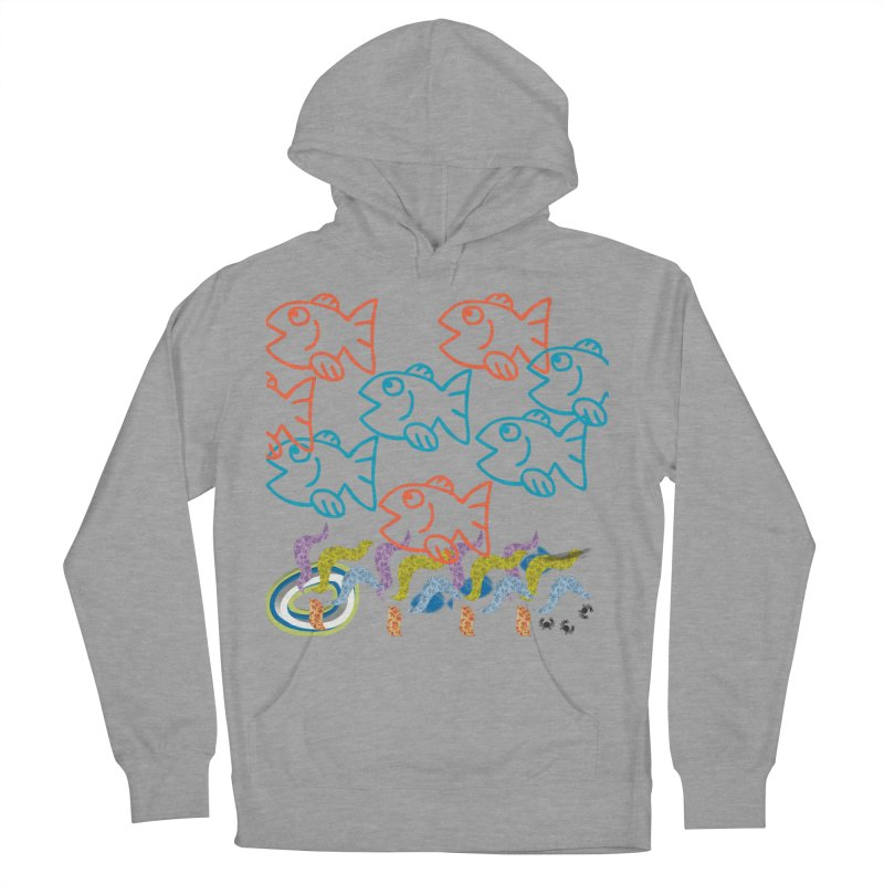 Sea Life - Nature Women's French Terry Pullover Hoody by 8010az's Shop