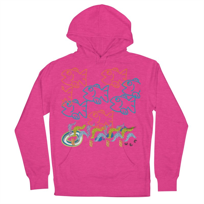 Sea Life - Nature Men's French Terry Pullover Hoody by 8010az's Shop