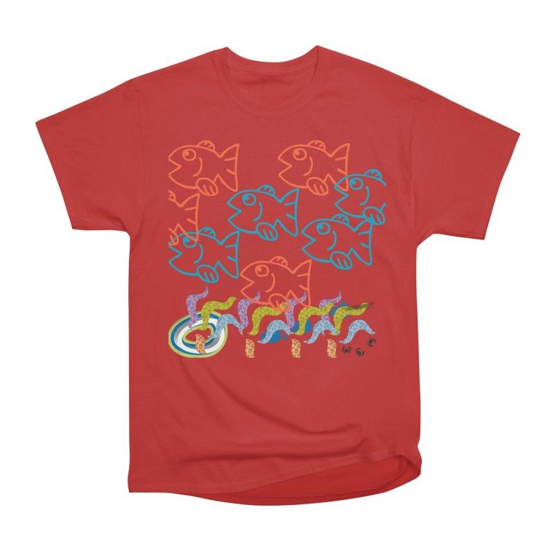 Sea Life - Nature Men's Heavyweight T-Shirt by 8010az's Shop