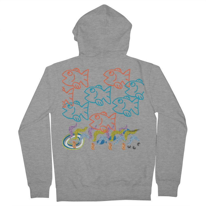 Sea Life - Nature Men's French Terry Zip-Up Hoody by 8010az's Shop