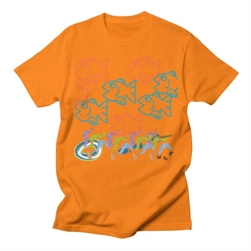 Sea Life - Nature Men's Regular T-Shirt by 8010az's Shop