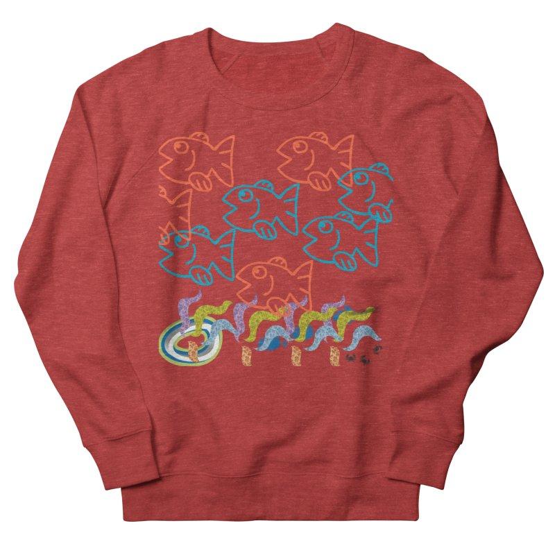 Sea Life - Nature Men's French Terry Sweatshirt by 8010az's Shop