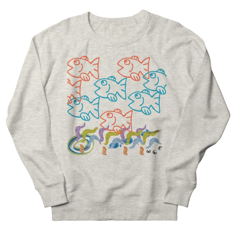 Sea Life - Nature Men's French Terry Sweatshirt by 8010az's Shop
