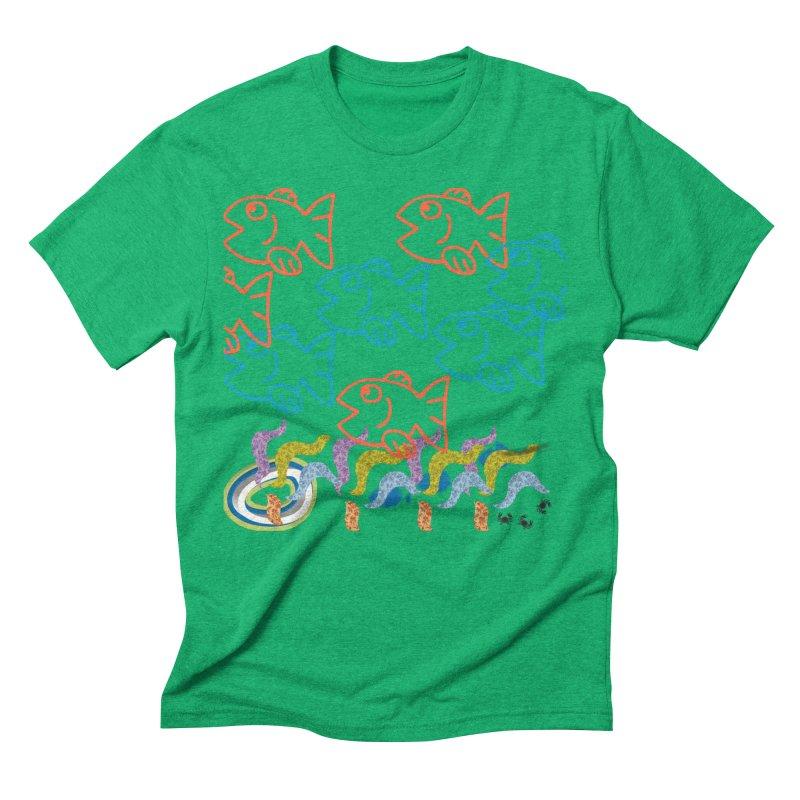 Sea Life - Nature Men's Triblend T-Shirt by 8010az's Shop