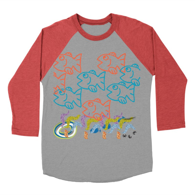 Sea Life - Nature Women's Baseball Triblend Longsleeve T-Shirt by 8010az's Shop