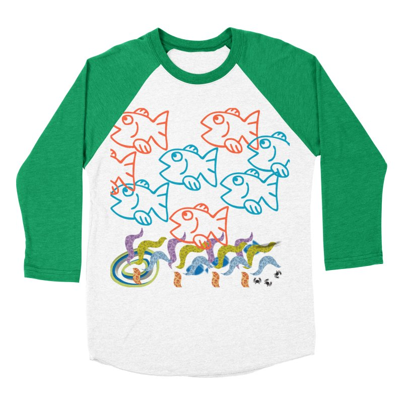 Sea Life - Nature Men's Baseball Triblend Longsleeve T-Shirt by 8010az's Shop