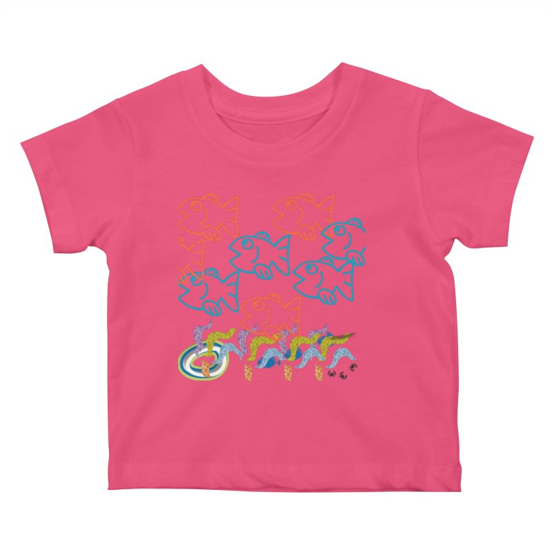 Sea Life - Nature Kids Baby T-Shirt by 8010az's Shop
