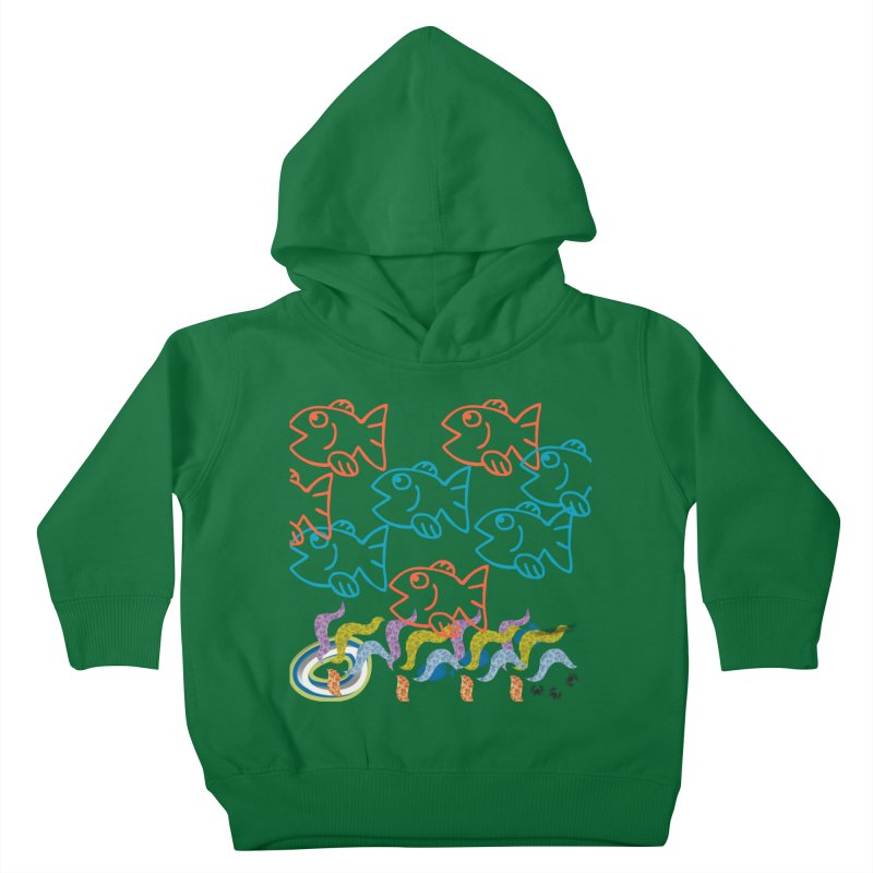 Sea Life - Nature Kids Toddler Pullover Hoody by 8010az's Shop