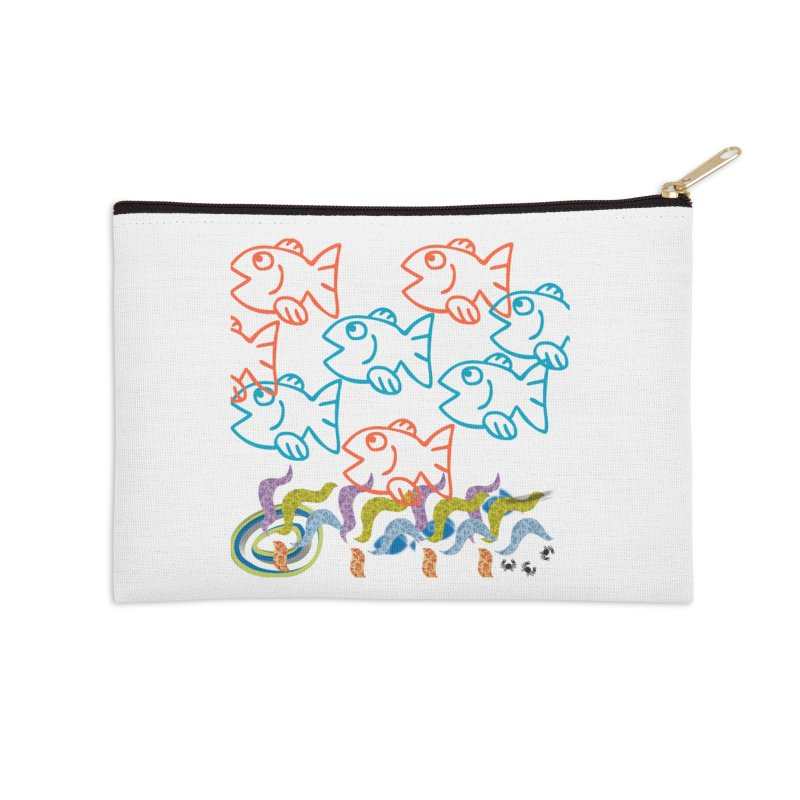 Sea Life - Nature Accessories Zip Pouch by 8010az's Shop