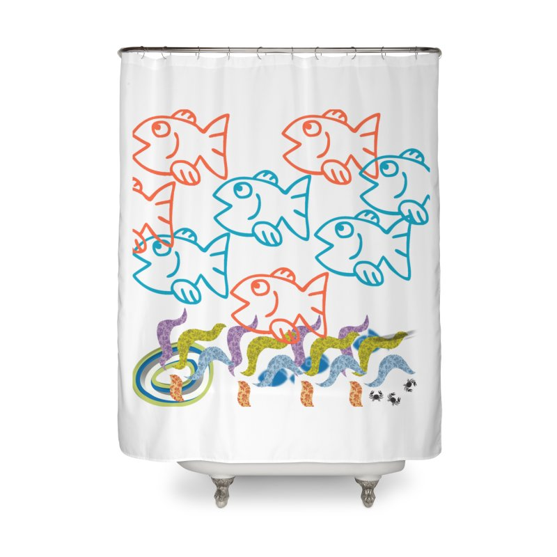 Sea Life - Nature Home Shower Curtain by 8010az's Shop